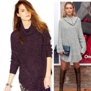 Free People Dylan Tweedy Pullover Sweater Dress